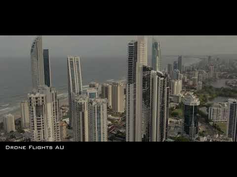 Gold Coast, Surfers Paradise Skyscrapers - Mavic 2 Zoom