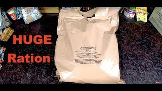 NEW British 24h Ration Sausage Casserole  AWESOME RATION MUST SEE !!!