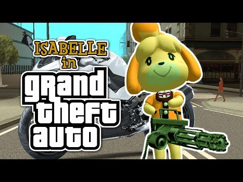 ISABELLE in Grand Theft Auto (Funny) |