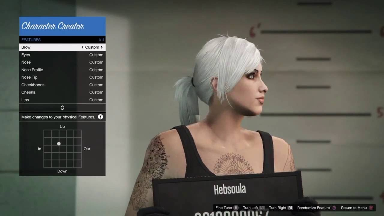 Re upload cute female character creation tutorial gta v online its youtube uninterrupted baditri Gallery