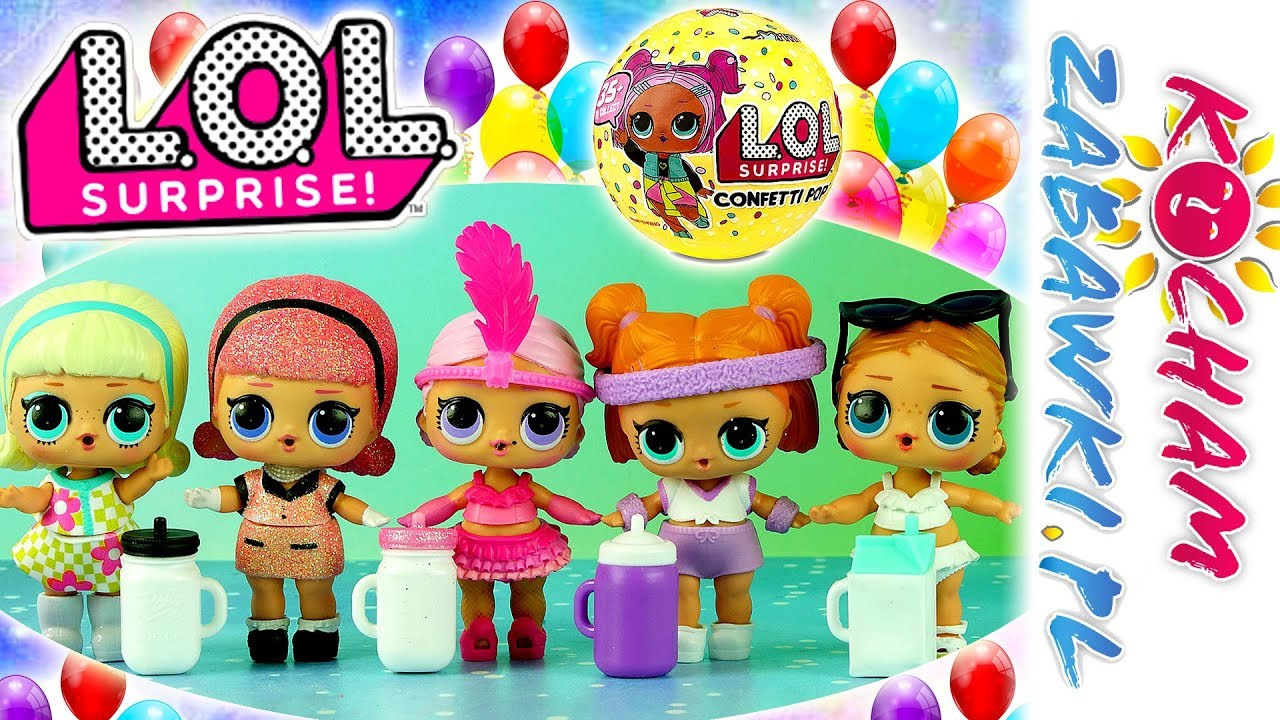 LOL Surprise Confetti POP • Moja kolekcja • openbox
