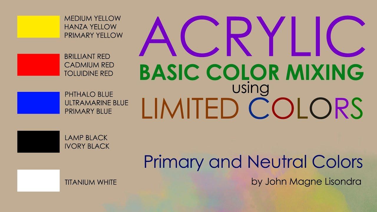basic color mixing chart pdf