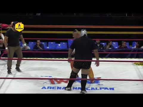 Terremoto Negro y Broken Clown vs Golden y Súper Brazo Jr, Arena Naucalpan
