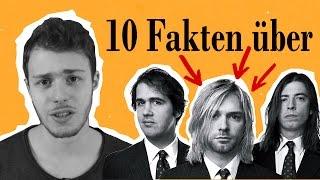 WURDE KURT COBAIN ERMORDET??! | 10 heiße Fakten über Nirvana