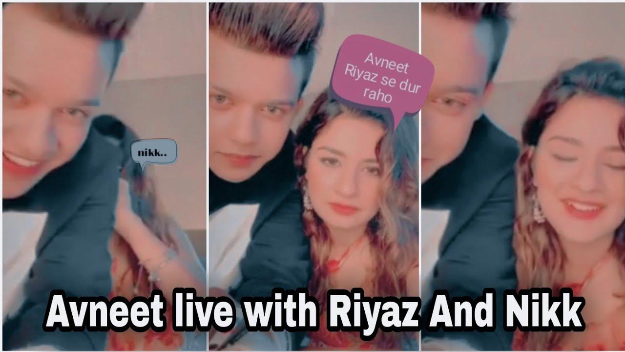 Avneet live with Riyaz and Nikk - New song coming - Avneet Kaur - Riyaz and nikk