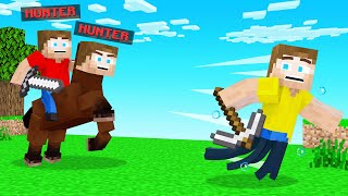 MORPH HUNTERS vs SPEEDRUNNER In Minecraft!