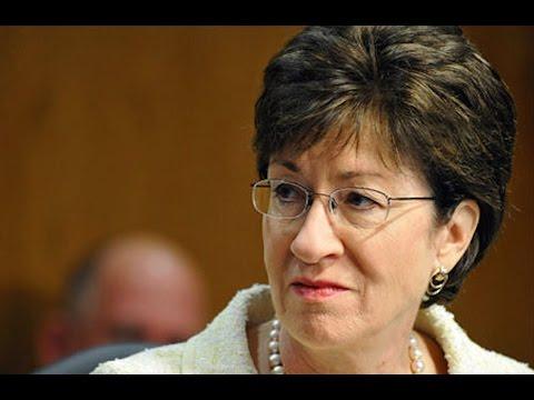Republican Sen. Susan Collins Can't Back #LoserDonald