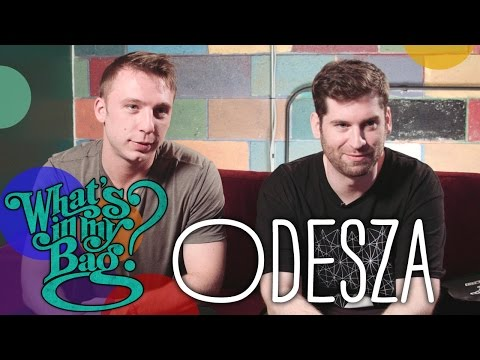 Odesza - What's In My Bag?