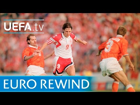 EURO 1992 Highlights: Netherlands 2-2 Denmark (4-5 Pens)