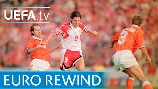 EURO 1992 Highlights: Netherlands 2-2 Denmark (4-5 pens)