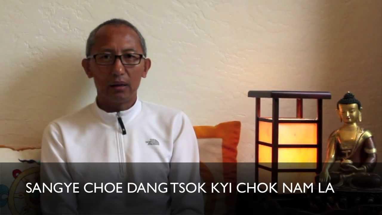 How to Say the Refuge Prayer in Tibetan • YoWangdu