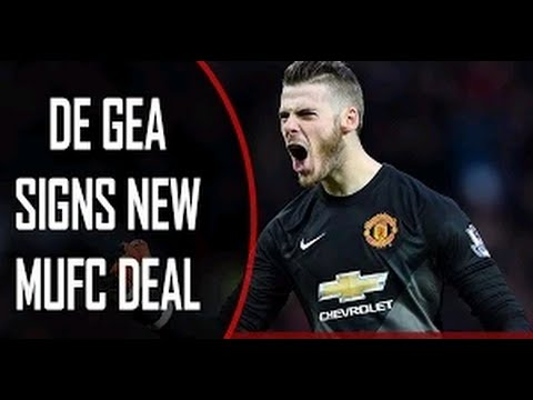 New David De Gea Signs a New Contract!   1st INTERVIEW   Manchester United Football Scouts VS Hugo