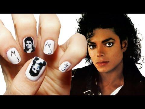 Michael Jackson Nail Art Michael Jackson Video Fanpop