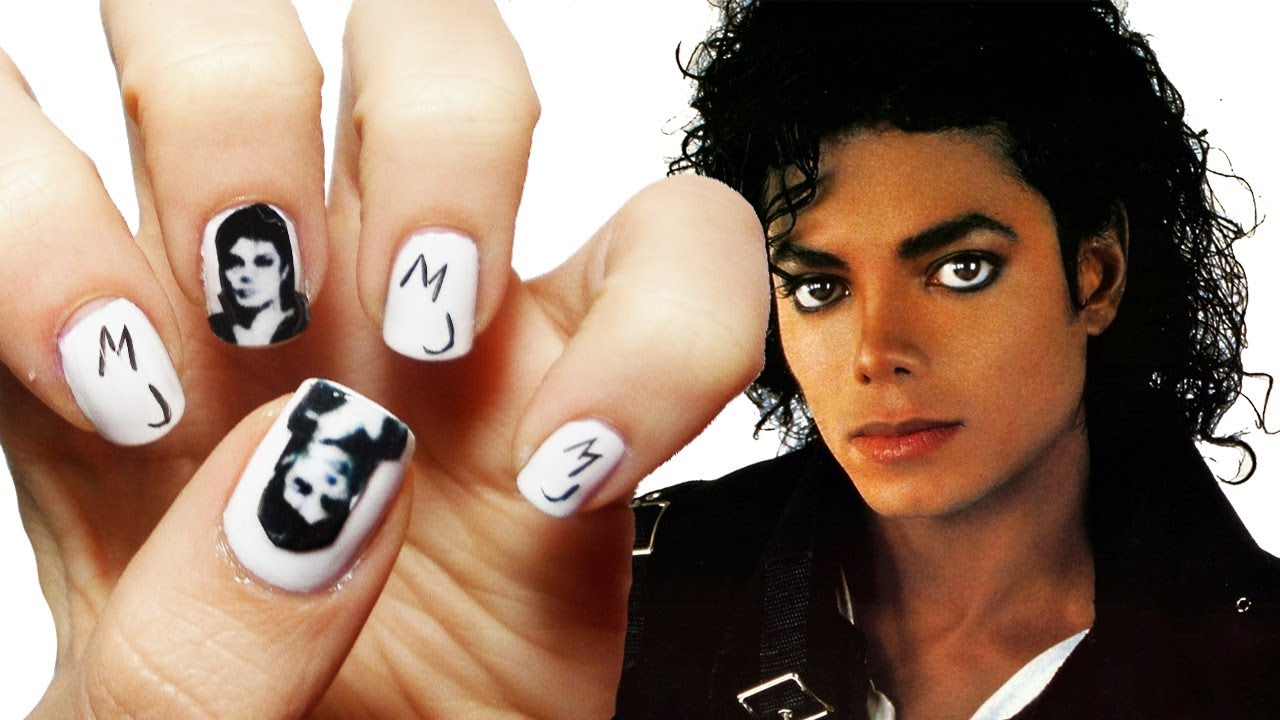 Michael jackson nail art youtube prinsesfo Gallery