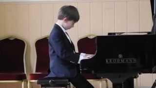 Daniel piano examen 1e klas