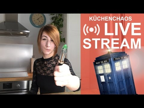 Kupferfuchs LIVE-STREAM vom 30.03.18 | Doctor Who Motivtorte 🔴