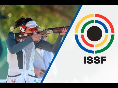 Trap Women Final - 2016 ISSF Shotgun World Cup in Nicosia (CYP)