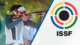 Trap Women Final - 2016 ISSF Shotgun World Cup in Nicosia (CYP) thumbnail