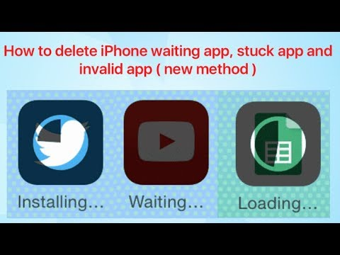 How to delete iphone app waiting app stuck and invalid app new how to delete iphone app waiting app stuck and invalid app new method ccuart Gallery