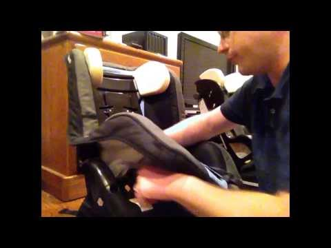 Recaro ProRide: How To Remove The Cover For Washing.