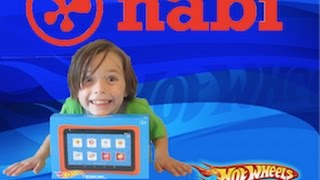 Hot Wheels Nabi The Learning Tablet! Childrens Tablet