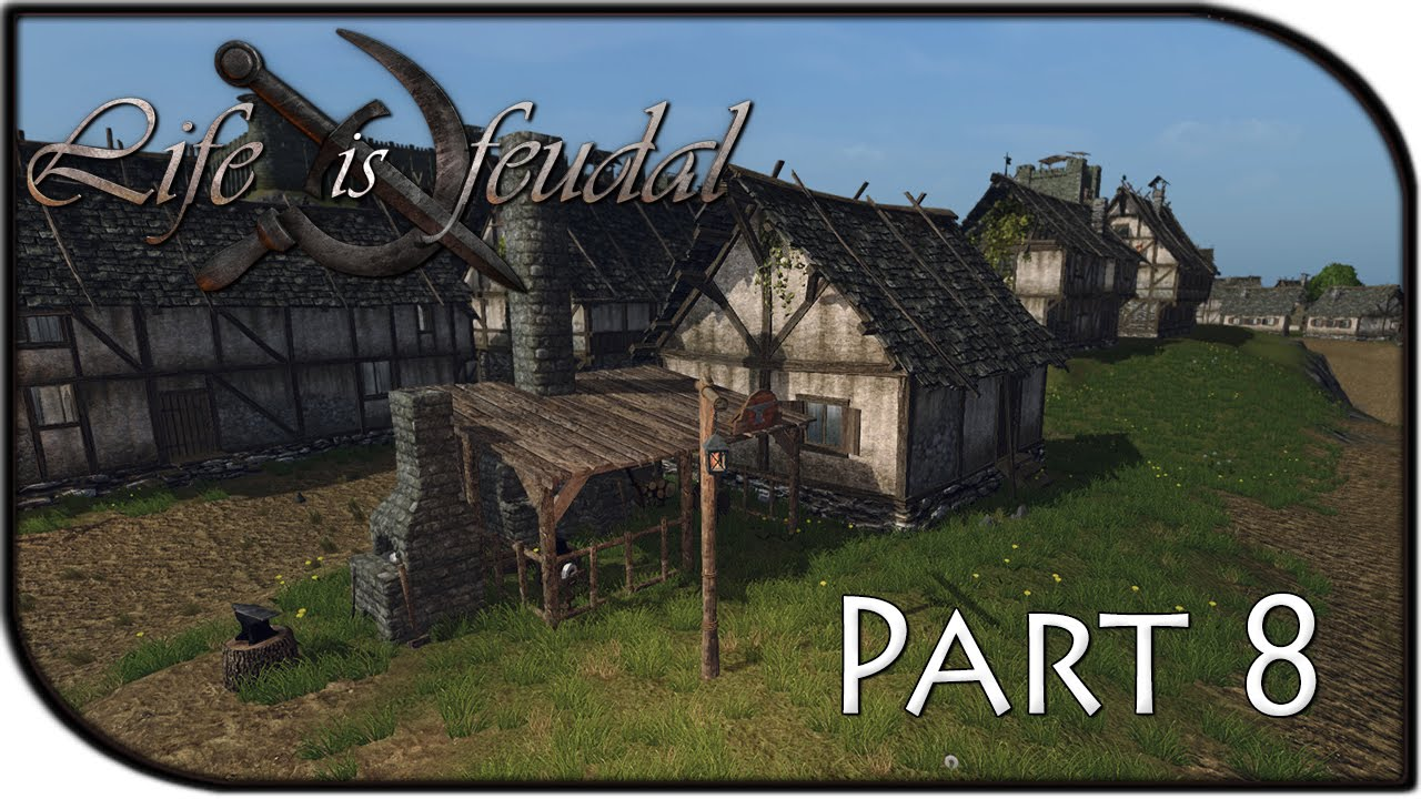 Life is feudal your own how to build a house life is feudal mmo как начать играть