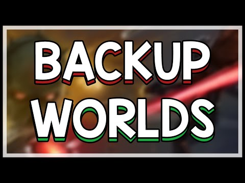 How To Backup Worlds And Characters In Terraria | Terraria Tutorial