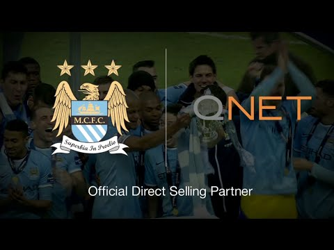 QNET - Official Direct Selling Partner of Manchester City Football Club!