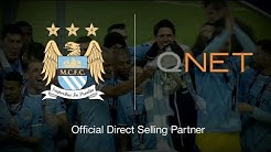 QNET Football |  Official Direct Selling Partner of Manchester City Football Club!