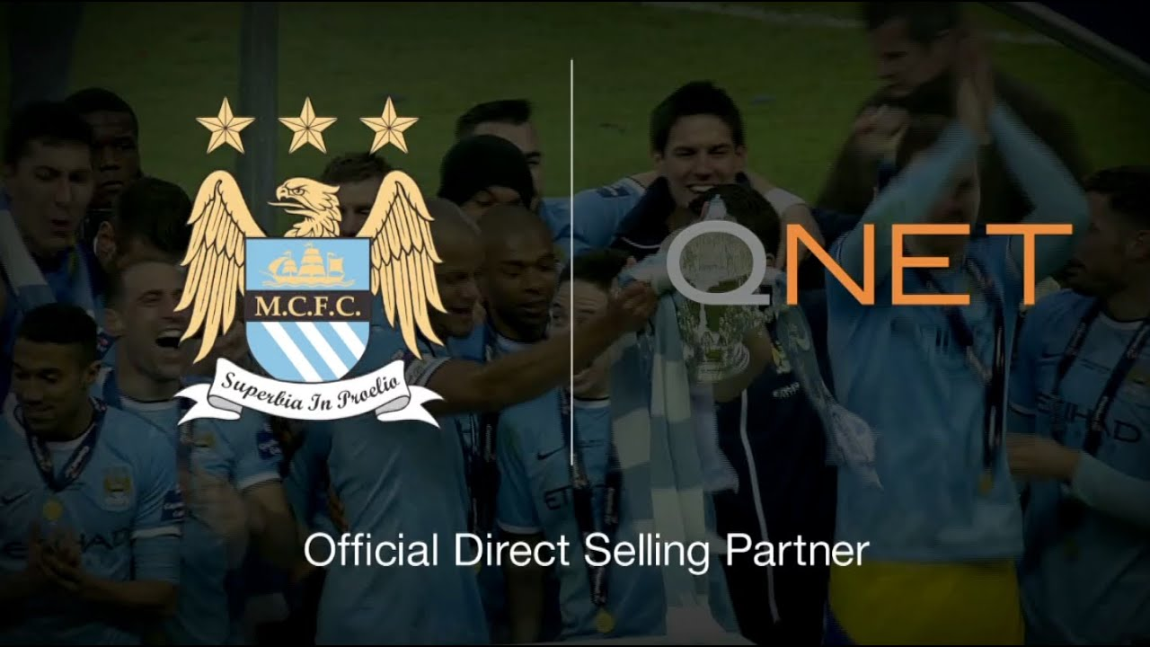 QNET - Official Direct Selling Partner of Manchester City Football ...