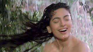 Juhi Chawla & Sanjay Dutt in Forest - Bollywood Movie Scene | Safari