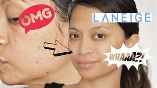 Gambar cover MY CURRENT SKIN CARE ROUTINE | ACNE | FT. LANEIGE