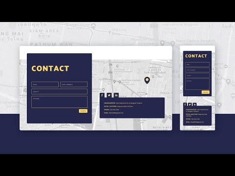 Create a Floating Contact Section with Divi Scroll Motion Effects