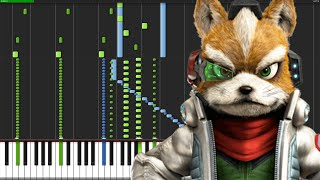 Interplanetary Combat Ship, Attack Carrier - Star Fox Zero [Piano Duet] (Synthesia) // DS Music