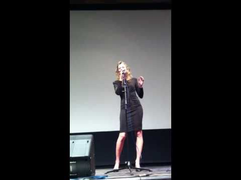 Abigail Amster sings ETERNALLY by Charlie Chaplin ( from  Limelight)