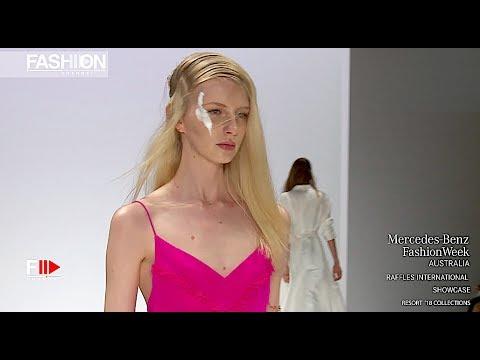 RAFFLES INTERNATIONAL Full Show MBFW AUSTRALIA RESORT 2018 - Fashion Channel