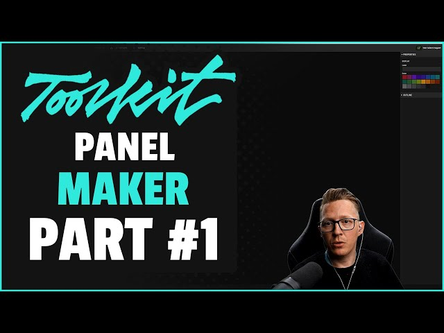 Introduction to the Retouching Toolkit: Panel Maker (Part #1)