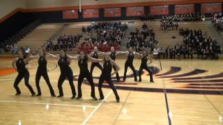 "Topeka West High School ""Westsiders"" OPEN/Jazz Routine at Kansas Spectacular Competition"