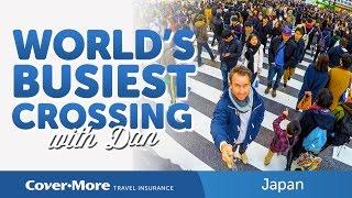 World's Busiest Crossing - 1,000 people per light change!