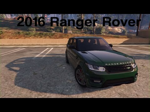 Test Drive Episode 6 | 2016 Ranger Rover [GTA V, PC](Rockstar Editor)