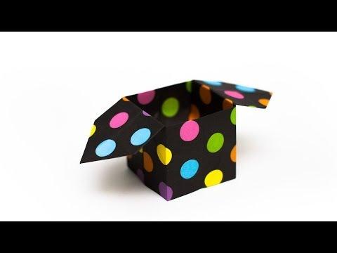 การพับกระดาษเป็นถุงใส่ขนมแบบญี่ปุ่น Origami Sambo
