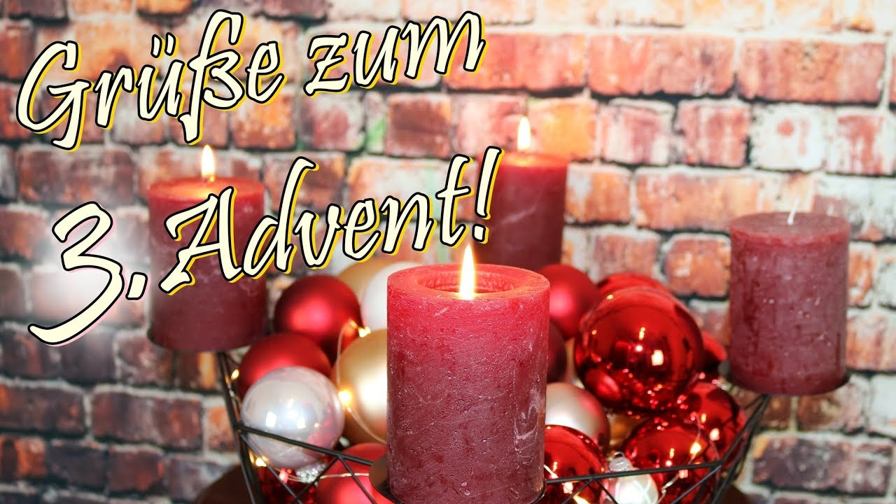 adventsgr e video zum 3 advent whatsapp w nsche frieden. Black Bedroom Furniture Sets. Home Design Ideas