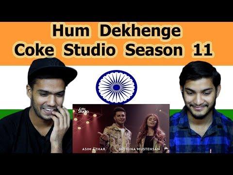 Indian reaction on Hum Dekhenge | Coke Studio Season 11 | Swaggy d