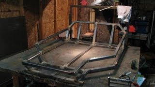 Two Seater Go Kart #2 ( Rear End & Main Frame ) Diy Homemade