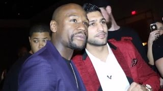 AMIR KHAN SHOCKED AFTER SIZING UP FLOYD MAYWEATHER; IMPRESSED AND BELIEVES HE