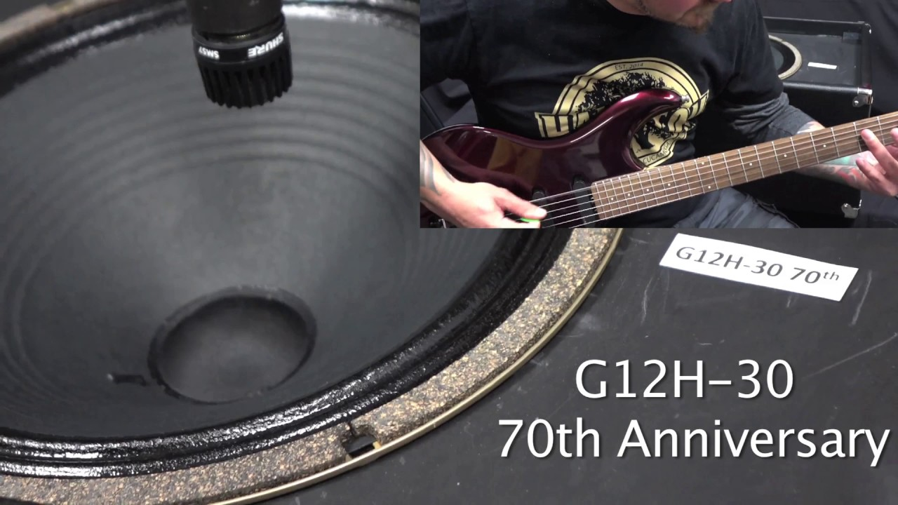 Celestion G12H 30 70th Anniversary Guitar Amp Speaker
