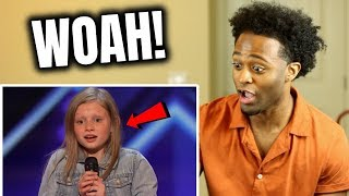 Woah! Simon Cowell Has Ansley Burns Sing Aretha Twice, She Nails It! - America's Got Talent 2019