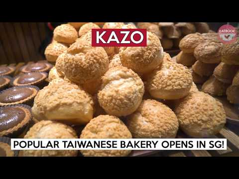 New Taiwanese Bakery At Chinatown With Salted Egg Lava Polo Bun | Kazo