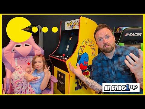 Arcade1Up Pac-Man BANDAI NAMCO Legacy Edition Review from Ra Ra Riley