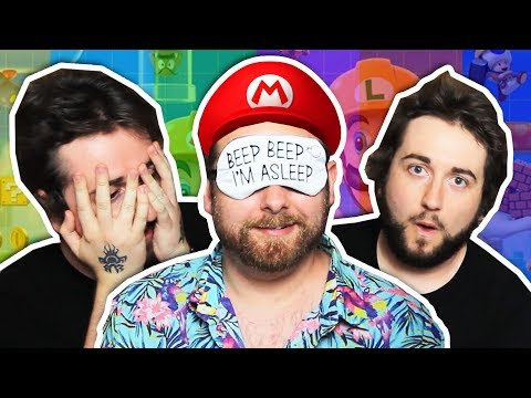 Playing Mario Maker Blindfolded (with Caddicarus) #CONTENT